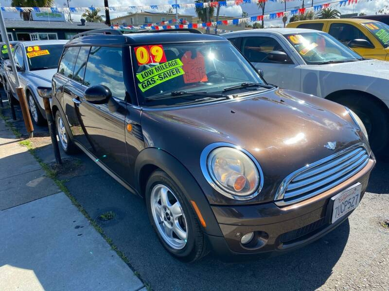 2009 MINI Cooper Clubman for sale at North County Auto in Oceanside CA