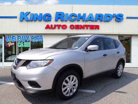 2016 Nissan Rogue for sale at KING RICHARDS AUTO CENTER in East Providence RI