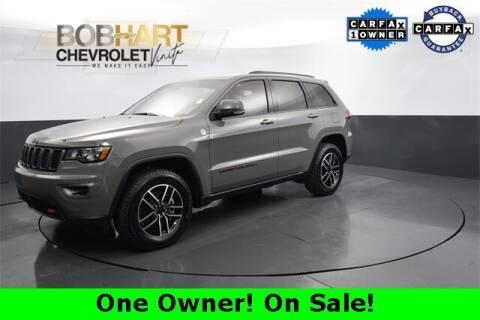 2021 Jeep Grand Cherokee for sale at BOB HART CHEVROLET in Vinita OK