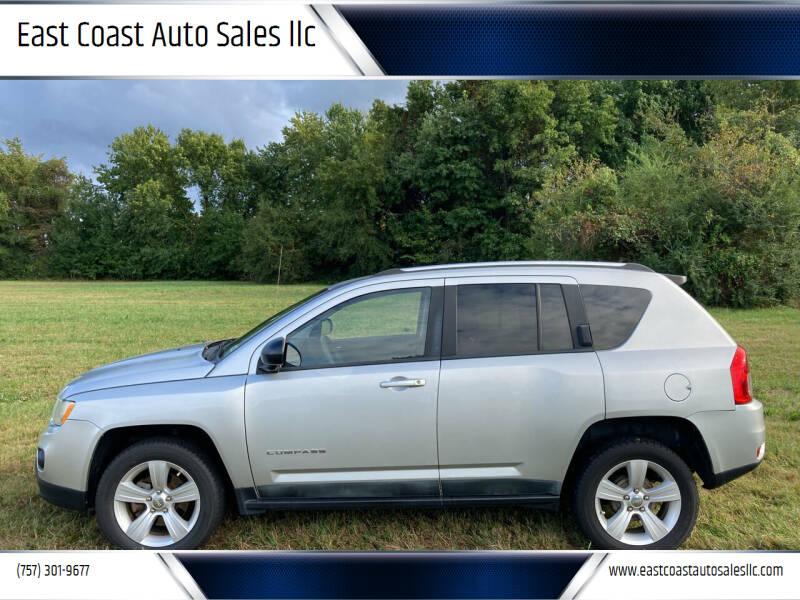 2011 Jeep Compass for sale at East Coast Auto Sales llc in Virginia Beach VA