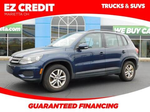 2016 Volkswagen Tiguan for sale at Pioneer Family preowned autos in Williamstown WV