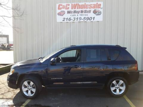 2014 Jeep Compass for sale at C & C Wholesale in Cleveland OH