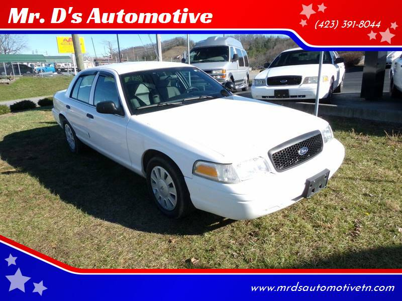 2007 Ford Crown Victoria for sale at Mr. D's Automotive in Piney Flats TN