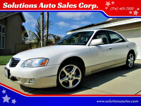 2002 Mazda Millenia for sale at Solutions Auto Sales Corp. in Orange CA