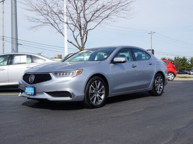 2018 Acura TLX for sale at BASNEY HONDA in Mishawaka IN