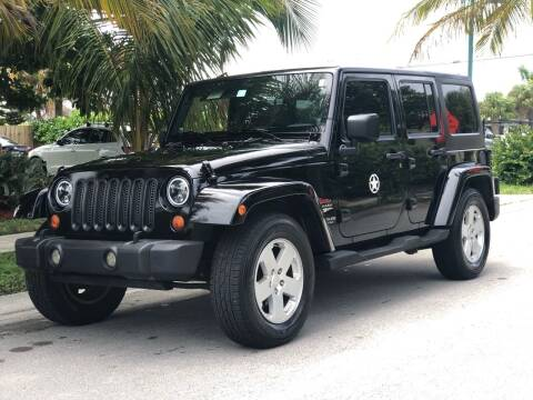 2007 Jeep Wrangler Unlimited for sale at L G AUTO SALES in Boynton Beach FL