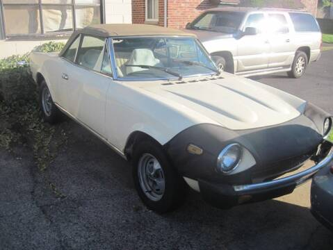 1982 FIAT 2000 for sale at Jeffrey's Auto World Llc in Rockledge PA