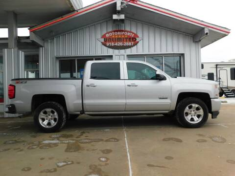2018 Chevrolet Silverado 1500 for sale at Motorsports Unlimited in McAlester OK