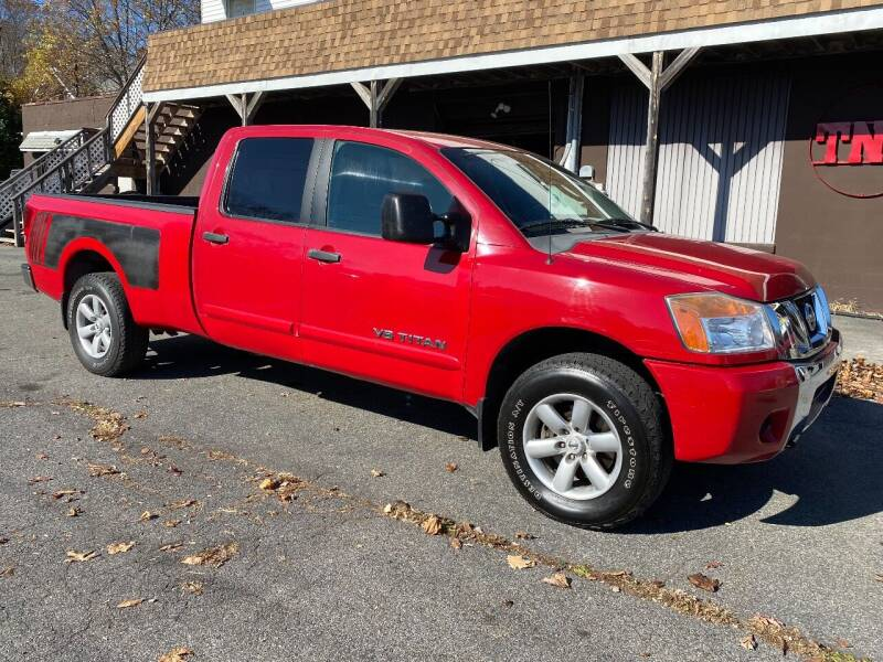 2008 Nissan Titan for sale at TNT Auto Sales in Bangor PA