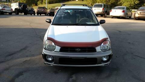 2002 Subaru Impreza for sale at DISCOUNT AUTO SALES in Johnson City TN