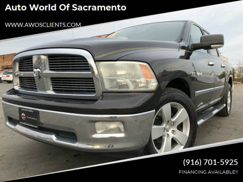 2010 Dodge Ram Pickup 1500 for sale at Auto World of Sacramento Stockton Blvd in Sacramento CA