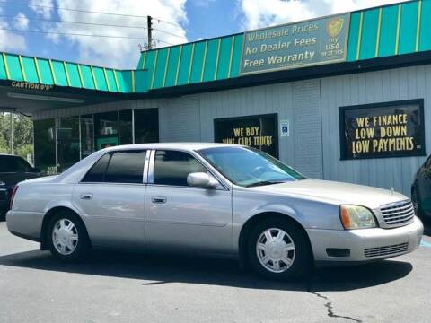 2004 Cadillac DeVille for sale at my USA motors - (Bad Credit? MYBUYHEREPAYHERE.com) in Brooksville FL
