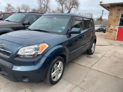 2011 Kia Soul for sale at PYRAMID MOTORS AUTO SALES in Florence CO