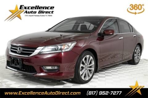 2013 Honda Accord for sale at Excellence Auto Direct in Euless TX
