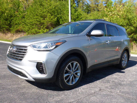 2018 Hyundai Santa Fe for sale at RUSTY WALLACE KIA OF KNOXVILLE in Knoxville TN