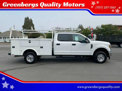 2019 Ford F-250 Super Duty for sale at Greenbergs Quality Motors in Napa CA