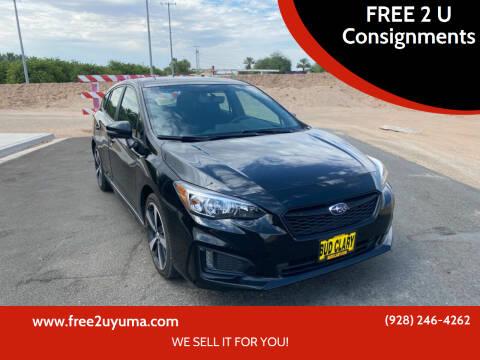 2018 Subaru Impreza for sale at FREE 2 U Consignments in Yuma AZ