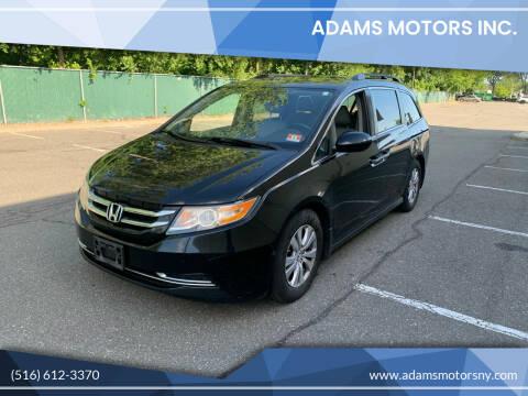 2014 Honda Odyssey for sale at Adams Motors INC. in Inwood NY