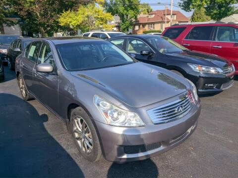 2008 Infiniti G35 for sale at CLASSIC MOTOR CARS in West Allis WI
