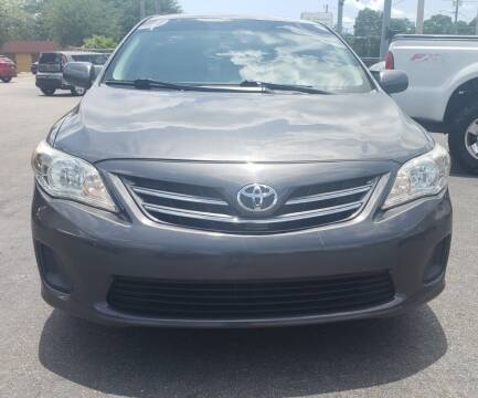 2013 Toyota Corolla for sale at Linus International Inc in Tampa FL