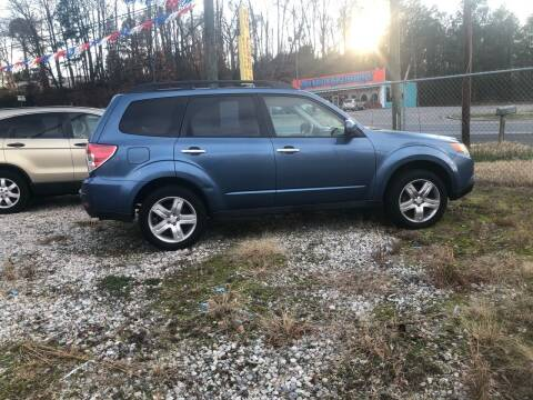 2009 Subaru Forester for sale at AFFORDABLE USED CARS in Richmond VA