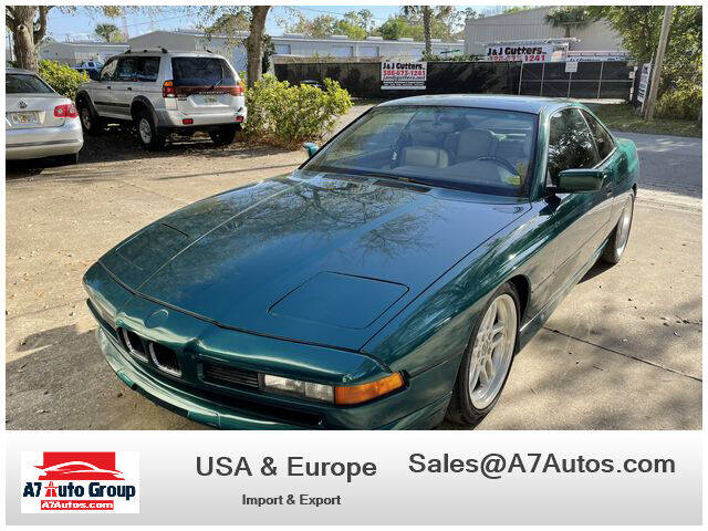 1991 BMW 8 Series for sale at A7 AUTO SALES in Holly Hill FL
