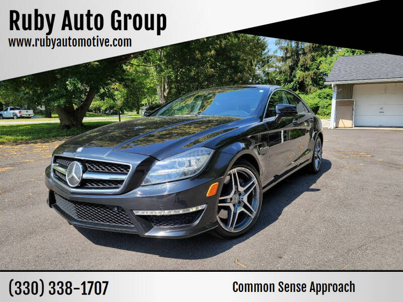 2012 Mercedes-Benz CLS for sale at Ruby Auto Group in Hudson OH