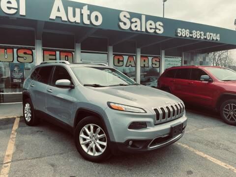 2015 Jeep Cherokee for sale at Daniel Auto Sales inc in Clinton Township MI