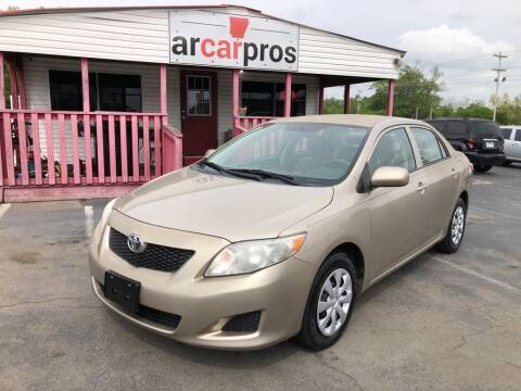 2010 Toyota Corolla for sale at Arkansas Car Pros in Cabot AR