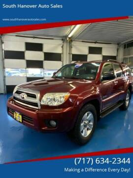 2008 Toyota 4Runner for sale at South Hanover Auto Sales in Hanover PA