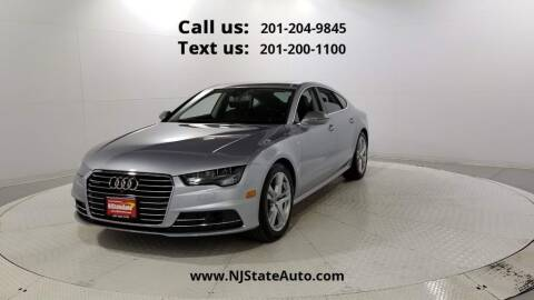 2017 Audi A7 for sale at NJ State Auto Used Cars in Jersey City NJ