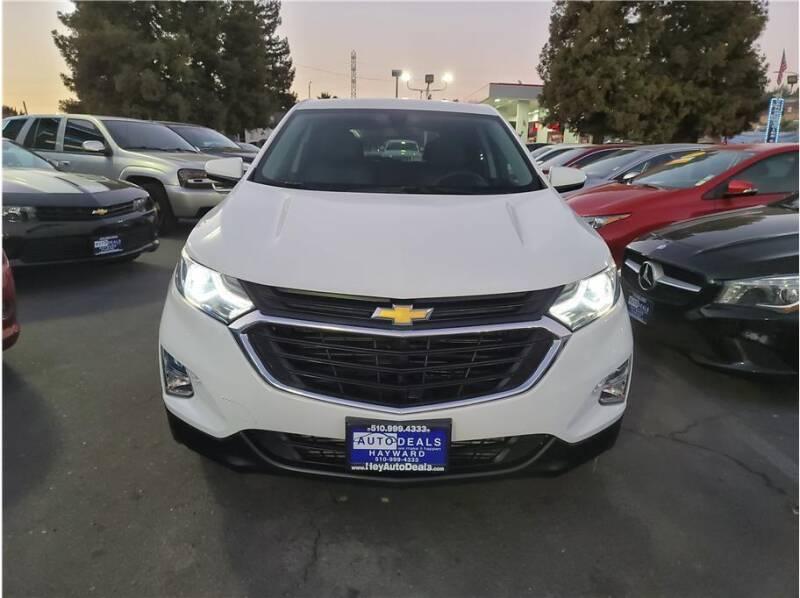 2018 Chevrolet Equinox for sale at AutoDeals in Hayward CA