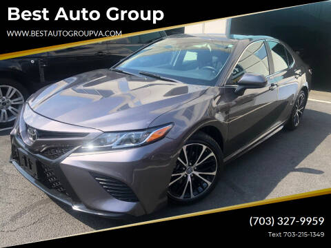 2019 Toyota Camry for sale at Best Auto Group in Chantilly VA