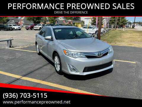 2013 Toyota Camry for sale at PERFORMANCE PREOWNED SALES in Conroe TX