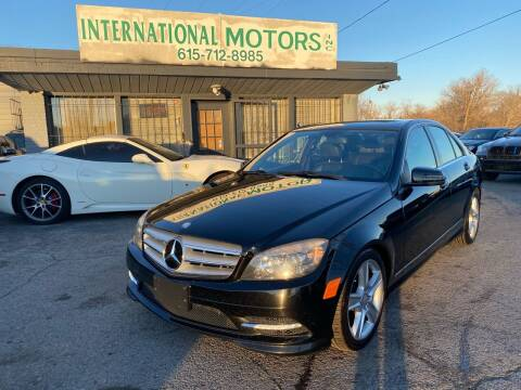 2011 Mercedes-Benz C-Class for sale at International Motors Inc. in Nashville TN