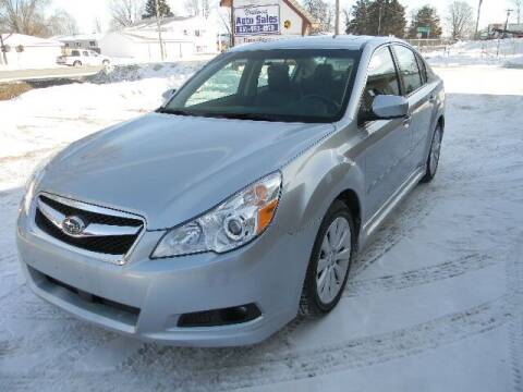 2012 Subaru Legacy for sale at Northwest Auto Sales in Farmington MN