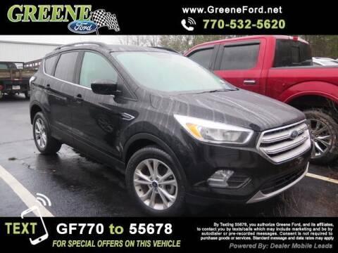 2018 Ford Escape for sale at NMI in Atlanta GA