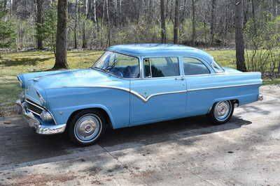 1955 Ford Fairlane for sale at Classic Car Deals in Cadillac MI