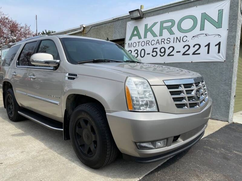 2007 Cadillac Escalade for sale at Akron Motorcars Inc. in Akron OH