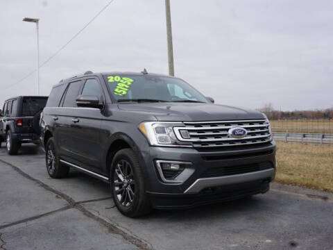 2020 Ford Expedition for sale at FOWLERVILLE FORD in Fowlerville MI