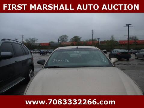 2005 Buick LaCrosse for sale at First Marshall Auto Auction in Harvey IL
