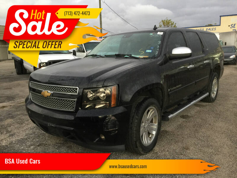 2007 Chevrolet Suburban for sale at BSA Used Cars in Pasadena TX