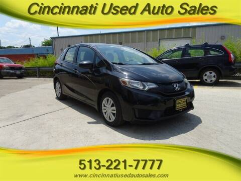 2017 Honda Fit for sale at Cincinnati Used Auto Sales in Cincinnati OH