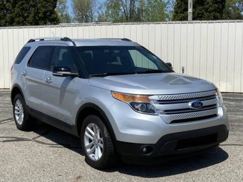 2014 Ford Explorer for sale at Miller Auto Sales in Saint Louis MI