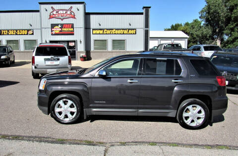 2016 GMC Terrain for sale at CarzCentral in Estherville IA