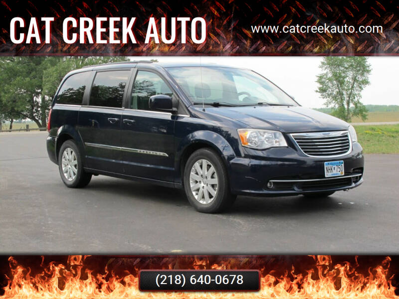 2013 Chrysler Town and Country for sale at CAT CREEK AUTO in Menahga MN