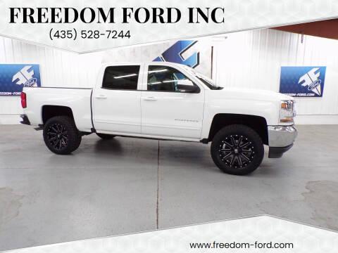 2018 Chevrolet Silverado 1500 for sale at Freedom Ford Inc in Gunnison UT