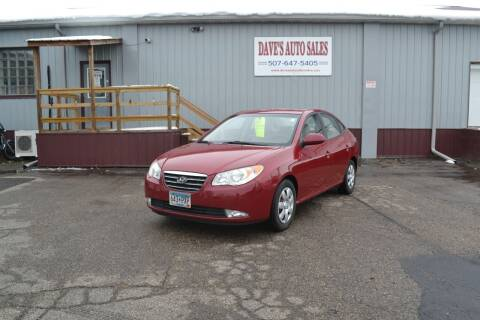 2007 Hyundai Elantra for sale at Dave's Auto Sales in Winthrop MN