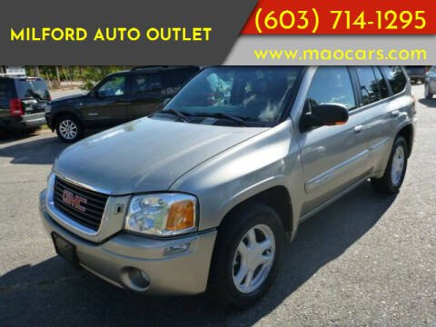 2002 GMC Envoy for sale at Milford Auto Outlet in Milford NH