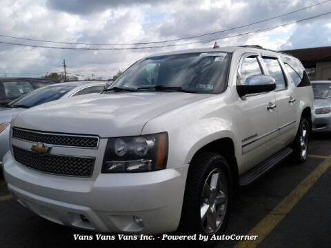 2011 Chevrolet Suburban for sale at Vans Vans Vans INC in Blauvelt NY